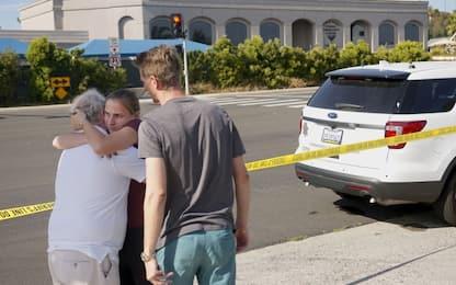 Sparatoria vicino a una sinagoga a San Diego: un morto, 3 feriti