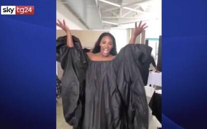 Serena Williams balla sulle note di Beyoncé. VIDEO