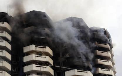 Filippine, incendio in un palazzo residenziale: una vittima