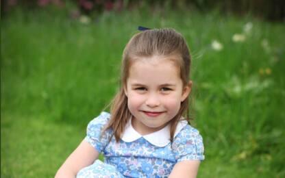 La principessa Charlotte compie 4 anni. FOTO