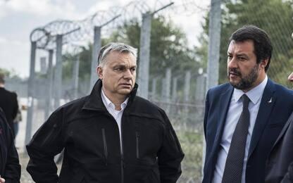 Salvini in Ungheria da Orban: nuova Europa protegga frontiere esterne