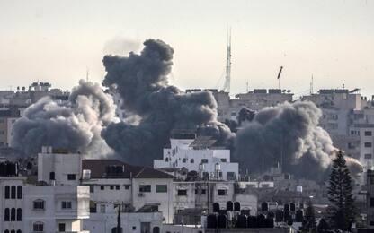 Gaza, pioggia di razzi su Israele e raid di Tel Aviv sulla Striscia