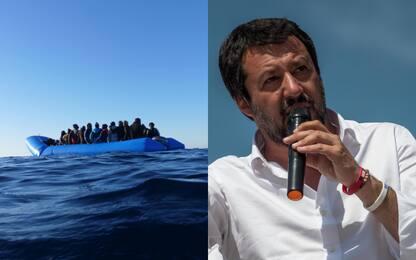 """Marina soccorre 36 migranti a largo Libia. Salvini: """"Porti non ne do"""""""