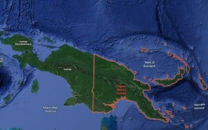 Terremoto Papua Nuova Guinea: scossa 7.5, allerta tsunami revocata