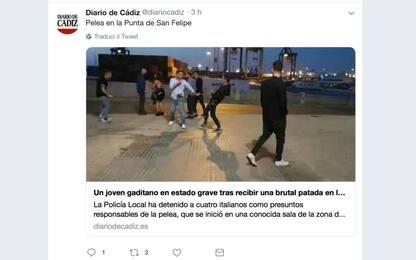 Cadice, 4 italiani fermati dopo rissa: grave ragazzo spagnolo