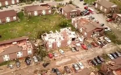 Usa, tornado distrugge un hotel in Oklahoma: almeno due vittime