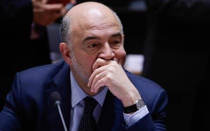 """Moscovici: """"Per l'Italia possibili misure correttive"""""""