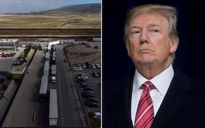 Trump: dazi contro il Messico per combattere l'immigrazione illegale