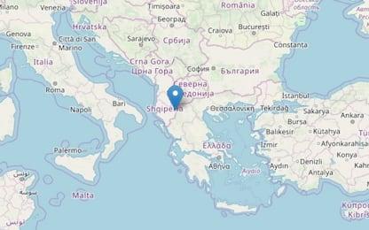Terremoto di magnitudo 4.9 al confine tra Albania e Grecia