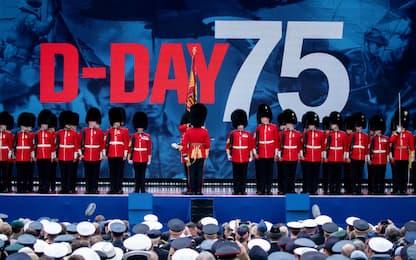 La celebrazione del 75esimo anniversario del D-Day. FOTO