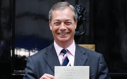 """Farage a Sky TG24: """"Impressionato da Lega, ma noi più vicini al M5S"""""""