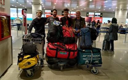 Pakistan, travolti da una valanga: i 4 alpinisti italiani sono salvi