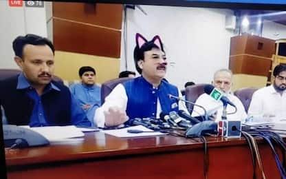 Pakistan, politici usano involontariamente il filtro gattini Facebook