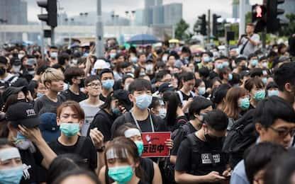 Hong Kong, nuova manifestazione. LE FOTO