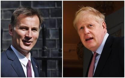 Gb, corsa per Downing Street: è sfida tra Boris Johnson e Jeremy Hunt