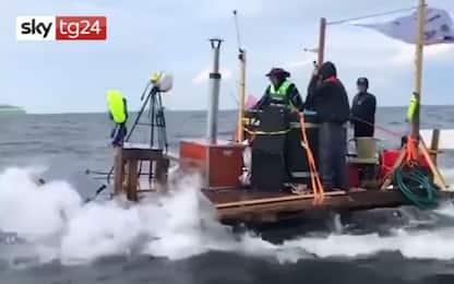 Golfo di Finlandia, da Helsinki a Tallinn nell'idromassaggio. VIDEO