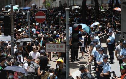 Hong Kong, ancora proteste. Circondata sede della polizia