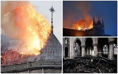 Incendio Notre-Dame: sigaretta o guasto elettrico le possibili cause
