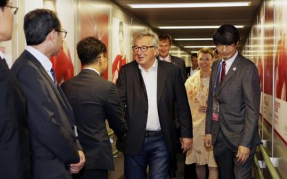 G20 a Osaka: l'arrivo di leader e capi di Stato in Giappone