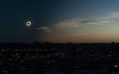 Eclissi totale di Sole il 14 dicembre: sarà visibile dal Sudamerica