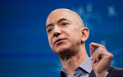 Jeff Bezos sta per perdere il primato di uomo più ricco del mondo