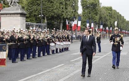 Presa Bastiglia, tensioni a parata Parigi: oltre 150 fermi