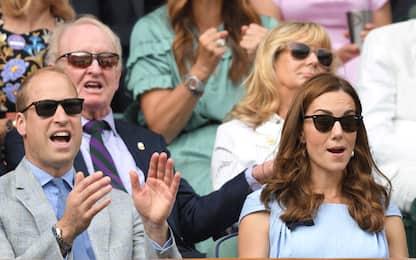 Da William e Kate a Bezos: i vip alla finale di Wimbledon