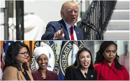 """Trump, tweet razzisti contro deputate: """"Antiamericane"""""""