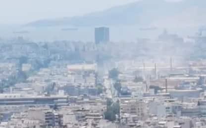 Terremoto Atene, il video dell'attore Manu Bennett