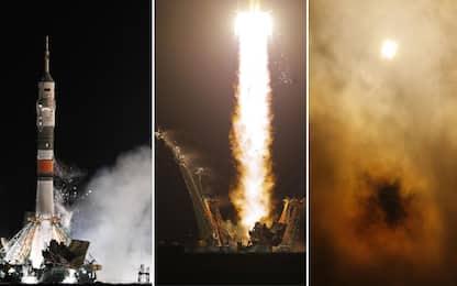 Luca Parmitano a bordo della Soyuz, IL VIDEO DEL LANCIO