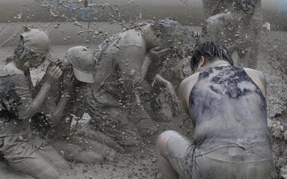 Mud Festival, in Corea del Sud la festa del fango. FOTO
