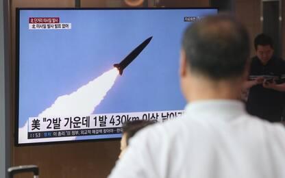 Nord Corea lancia due missili a corto raggio: sono finiti in mare
