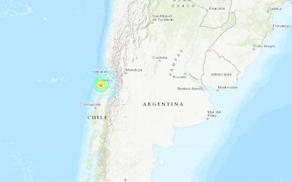 Terremoto in Cile, scossa di magnitudo 6.6 nel centro-sud del Paese