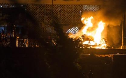 Strage al Cairo davanti all'ospedale oncologico. FOTO