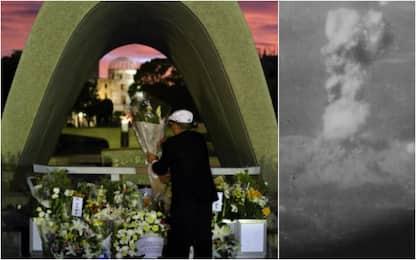 Hiroshima, 74 anni fa il disastro della bomba atomica. FOTO