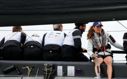 Kate e William alla King's Cup Regatta. Foto