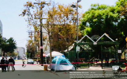 Sparatoria a Los Angeles, donna ferisce 4 persone