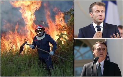 """Incendi Amazzonia, tutti contro Bolsonaro: """"Emergenza internazionale"""""""