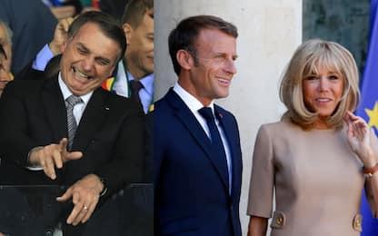 Bolsonaro offende Brigitte Macron, tensioni Brasile-Francia