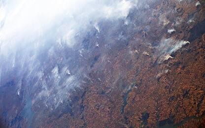 Incendi in Amazzonia, le foto di Luca Parmitano dallo Spazio