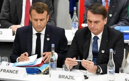 Incendi Amazzonia, il Brasile apre agli aiuti del G7