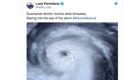 Uragano Dorian, la foto di Luca Parmitano dallo Spazio