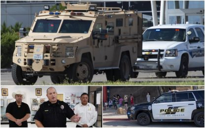 Sparatoria in Texas, 7 morti e almeno 19 feriti: ucciso il killer