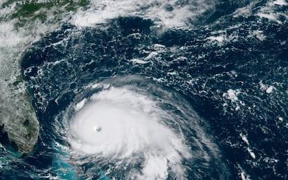 """Dorian sulle Bahamas, Trump: """"Uno degli uragani maggiori di sempre"""""""