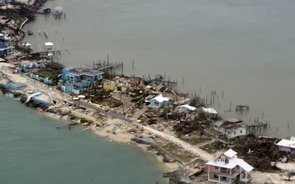 Uragano Dorian, sale a 7 il bilancio delle vittime. FOTO
