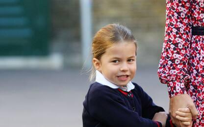 Primo giorno di scuola per la Principessa Charlotte