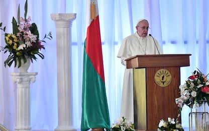 """Papa in Madagascar: """"Deforestazione compromette futuro"""""""