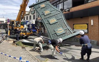 Giappone, tifone Faxai colpisce Tokyo: una vittima. Video