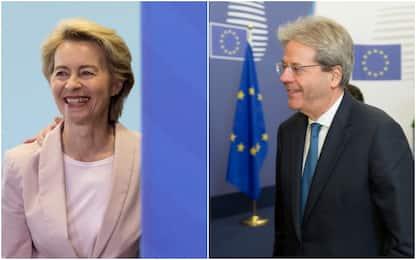 Commissione Ue, ufficializzate nomine: Gentiloni all'Economia