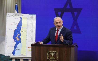 Israele, Netanyahu pronto ad annettere Valle del Giordano